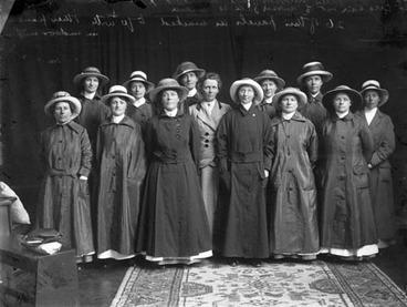 Image: Ettie Rout with her Volunteer Sisterhood