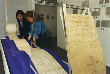 Image: 1893 suffrage petition