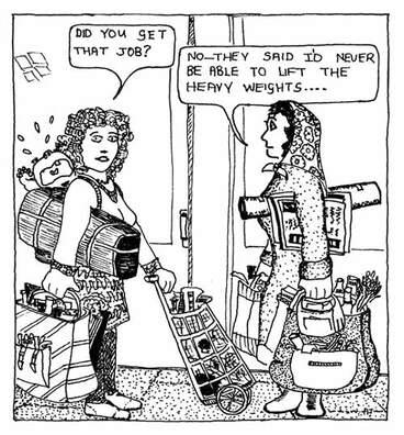 Image: Gender discrimination in employment, 1977