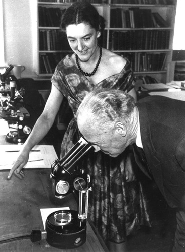Image: In the laboratory, 1962