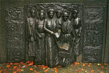 Image: Women's suffrage memorial, Christchurch