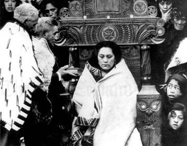 Image: Queen Te Ātairangikaahu, 1966