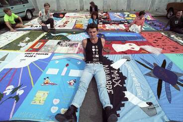 Image: New Zealand AIDS Memorial Quilt