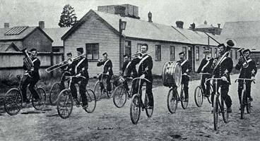Image: Christchurch Bicycle Band, 1898