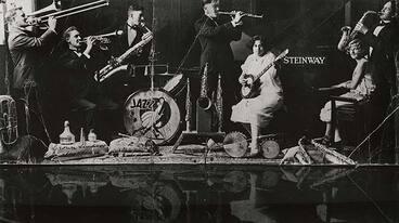 Image: Walter Smith's Jazz Band, around 1927