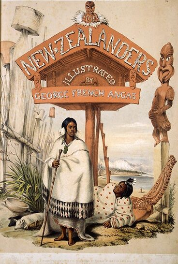 Image: The New Zealanders illustrated, by George French Angas