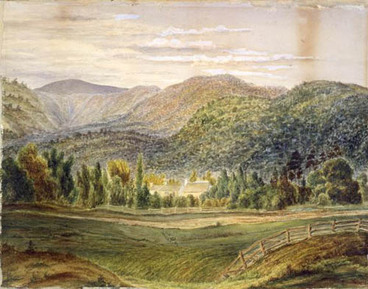 Image: Thomas Mason's gardens at Taita, Hutt Valley, Wellington