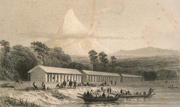 Image: Immigration barracks, 1841
