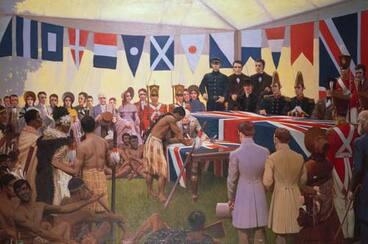 Image: Signing the Treaty of Waitangi