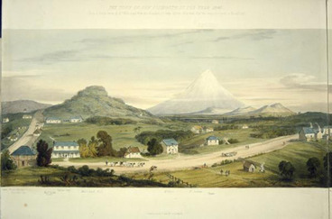 Image: New Plymouth, 1843
