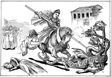 Image: The sweating crusade, 1892