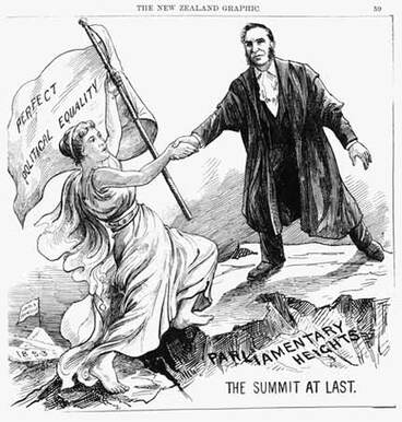 Image: New Zealand Women's Suffrage