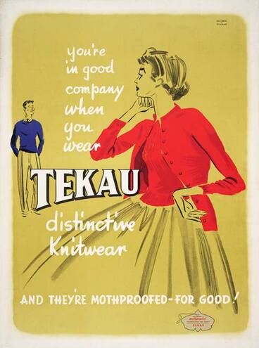 Image: Tekau knitwear