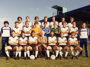 Image: All Whites soccer team, 1981