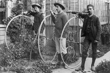 Image: The penny-farthing