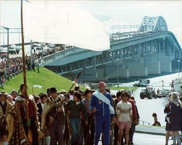 Image: Māori land march, 1975