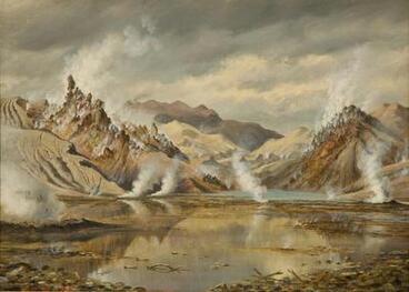 Image: Rotomahana after the eruption