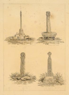 Image: Studies of Celtic Crosses