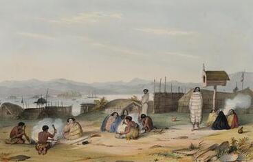 Image: Slaves Preparing Food