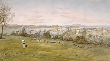 Image: Auckland from the Domain