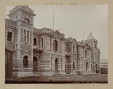 Image: Canterbury Hall