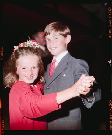 Image: Negative: Fairhall-Barton Wedding