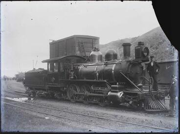 Image: Unidentified locomotive
