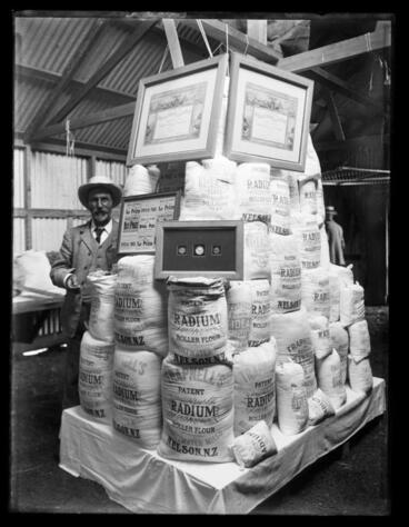 Image: Display of Radium Flour, Brightwater Mills