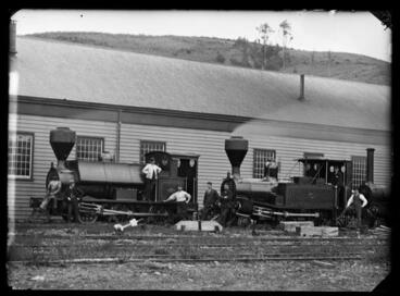 Image: Railways, locomotives, St Vincent Street yard