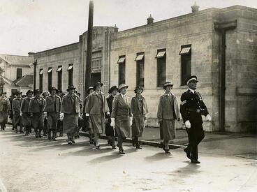 """Image: """"St John Ambulance Parade, New Plymouth, ANZAC Day"""""""