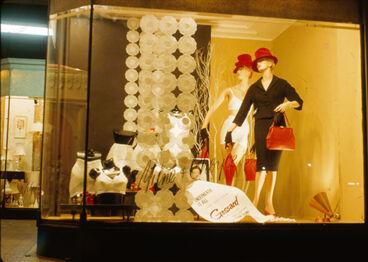Image: Milne and Choyce window display for Gossard underwear