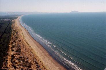 Image: Horowhenua Coastline From the Air