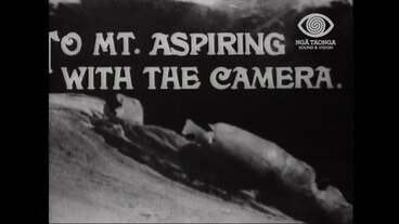 Image: TO MT. ASPIRING WITH THE CAMERA