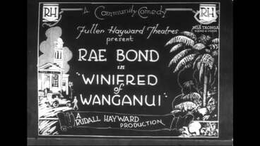 Image: WINIFRED OF WANGANUI [TITLES] : TROOP PARADE