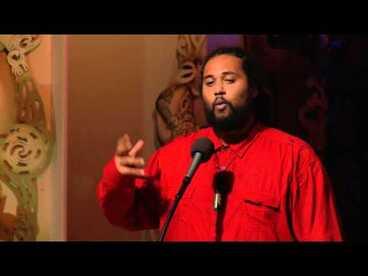 Image: Te Kahu Rolleston - Matariki PoetrySlam