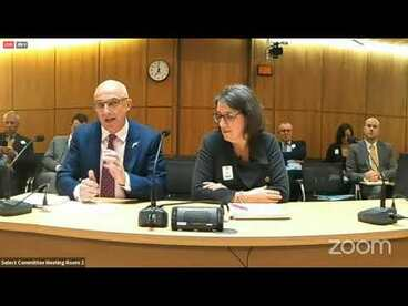 Image: Forest & Bird present to MPs on the Bill to end new oil and gas drilling