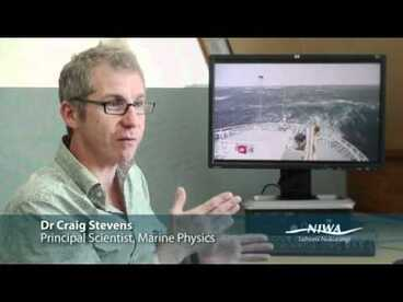 Image: Current conversion - tidal and wave energy in New Zealand