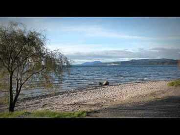 Image: Volcanic Lake Taupō - Roadside Stories