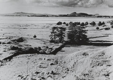 Image: View from Otuataua, Ihumatao, ca 1961.