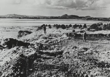 Image: View from Otuataua, Mangere, ca 1961.