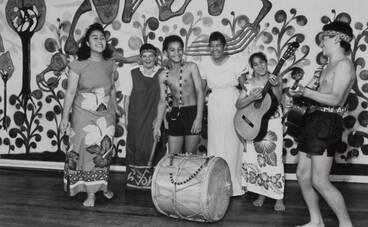 Image: School music festival, Otara, 1988.