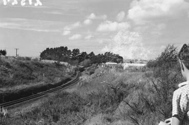 Image: Steam train 'Meg Merrillies' near Glen Eden.
