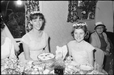 Image: Wedding Reception, Point England, 1960