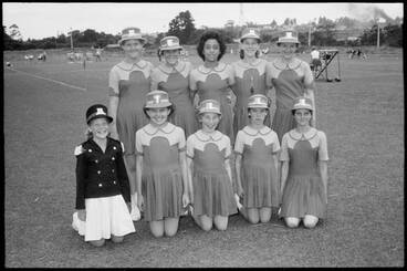 Image: Marching girls competition, 1959