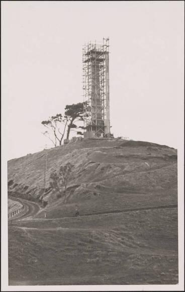 Image: One Tree Hill obelisk, 1940