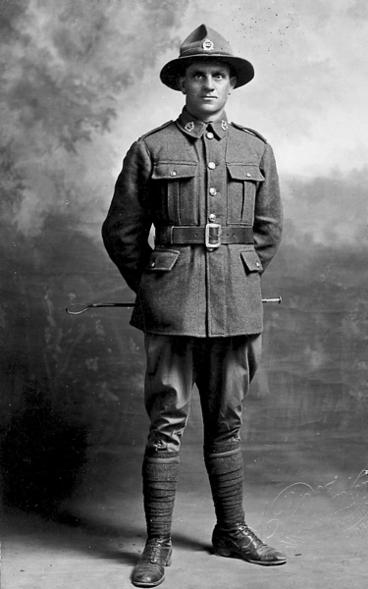 Image: Unidentified soldier