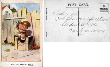 Image: Postcard sent by Emily Cameron : digital image