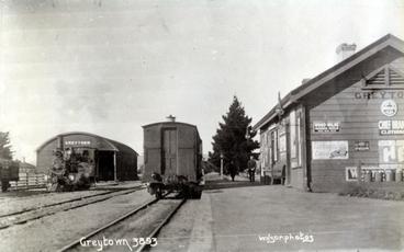 Image: Greytown Railway Station : Print