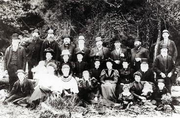 Image: Scandinavian settlers at Kopuaranga