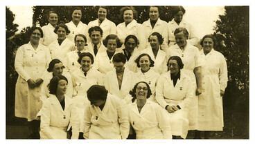 Image: School of Advanced Nursing Studies, 1938-39